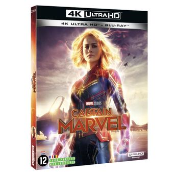 Captain Marvel - Combo 4K Ultra HD + Blu-Ray
