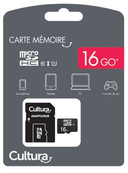 Carte Micro Sdhc Cultura 16Go