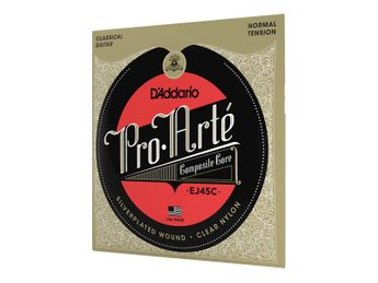D'Addario - Jeu de cordes pour Guitare Classique  - EJ45C Pro Arte