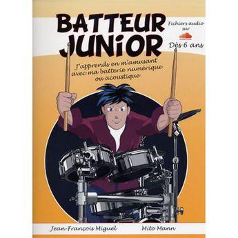 Batteur junior + audio online