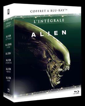 Alien - L'intégrale 6 Blu-ray