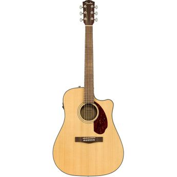 Fender CD-140SCE Dreadnought Acoustic-Electric Guitar - Natural