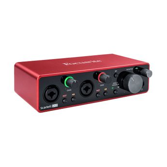 Focusrite - Interface Audio USB Scarlett G3 2/in 2/out USB-C