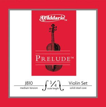 D'Addario - Jeu Violon Prelude 3/4