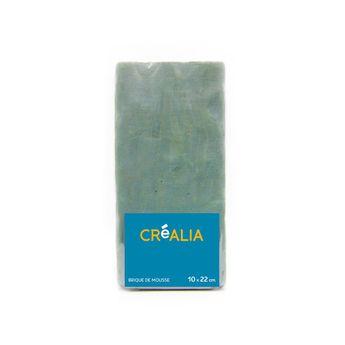 Brique de mousse - composition florale - Créalia