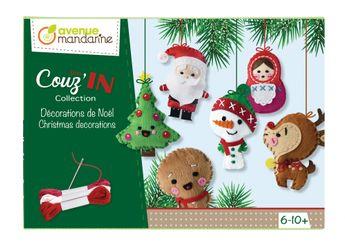 Boîte créa, Mini Couz'IN, Décos de Noël