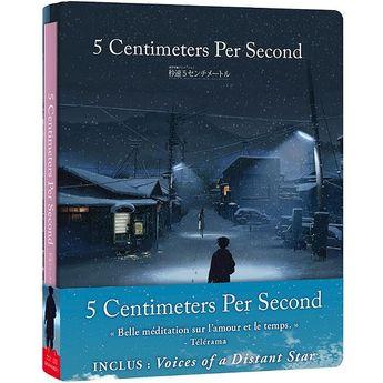 5 Centimeters per Second - Edition Steelbook Combo Blu-Ray + CD