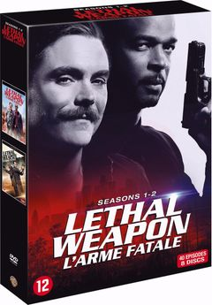 Lethal Weapon - S1-2 (DVD)