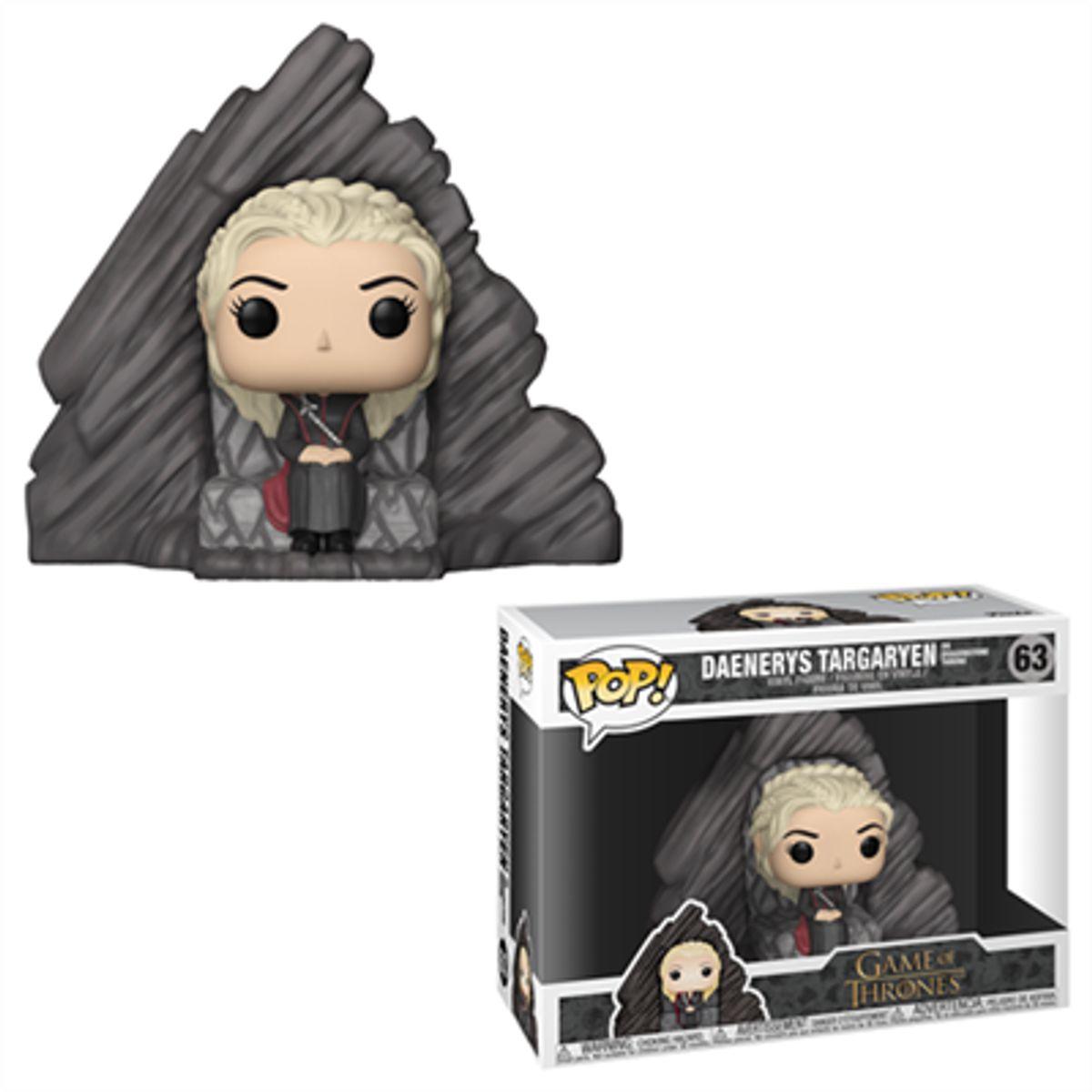 Funko Pop! Deluxe Game of Thrones Daenerys Targaryen on Dragonstone Throne