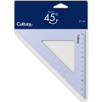 Equerre 45° en plastique - Cultura