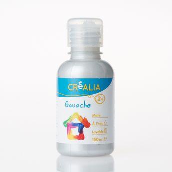 Gouache - Créalia - 150 ml - Argent