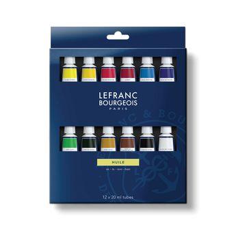 Set huile fine  lefranc bourgeois - 12x20 ml