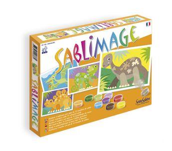 Kit créatif Sablimage - Dinosaures