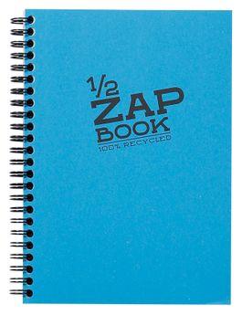 1/2 Zap Book carnet spiralé 80F A5 80g