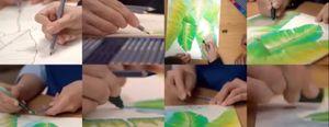 Dessiner et colorer au crayon aquarelle