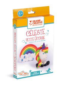 """Kit pâte à modeler légère """"céleste la petite licorne"""""""