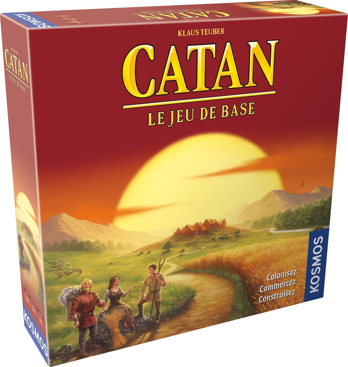 Catan - Base - 3-4 Joueurs