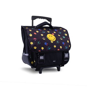 Cartable trolley 38cm - 18L - Smiley Wd Crazy Things