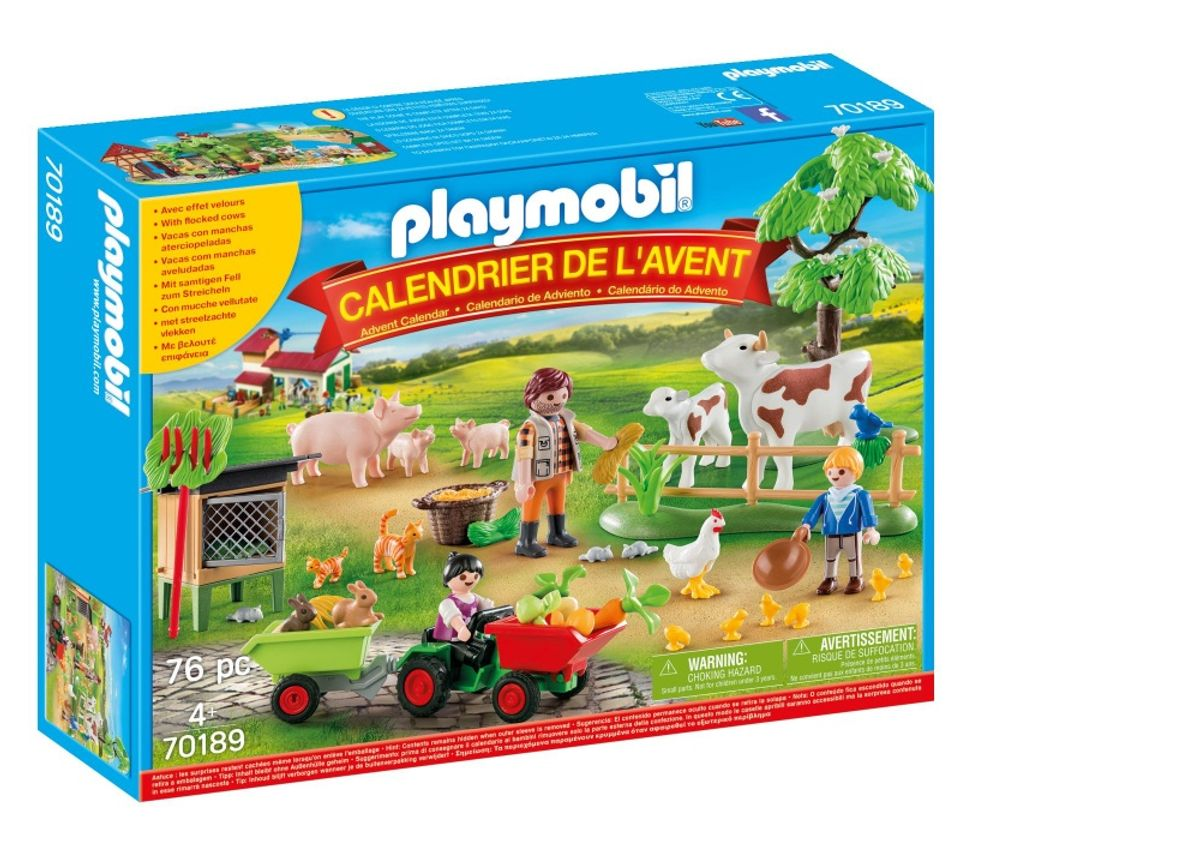 Calendrier Avent Playmobil Animaux