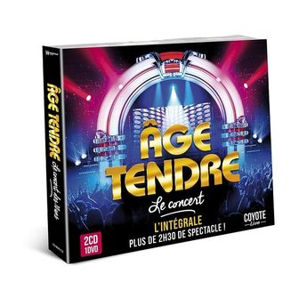 Age Tendre - Age Tendre Le Concert - CD